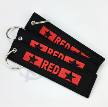 Cheap Embroidery Customized Double Sided Key Chains Buy Product On