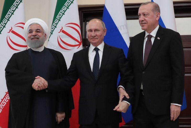 Russia, Turkey, Iran hail US Syria withdrawal