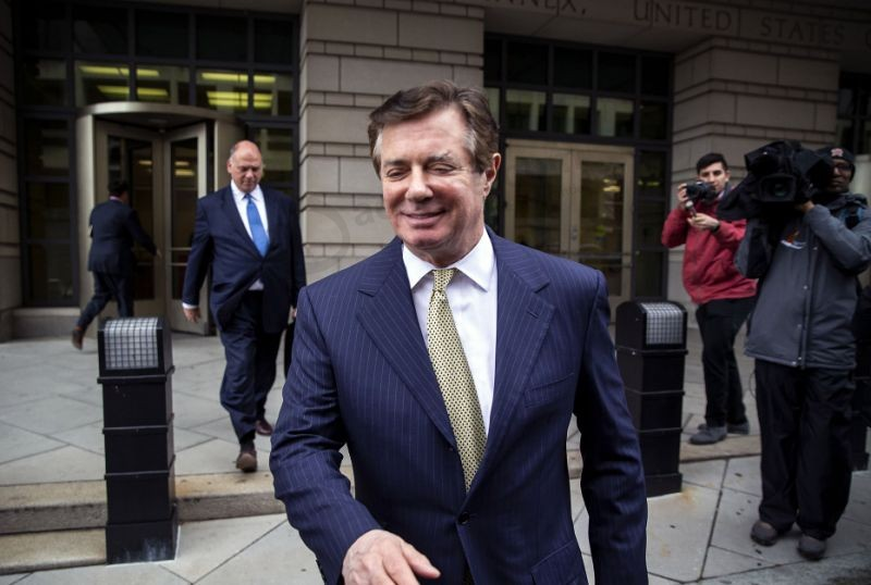 Manafort Faces March 8 Sentencing for Virginia Fraud Convictions